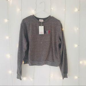 Sub_Urban Riot Sweaters - SUP. Grey Crew Sweatshirt